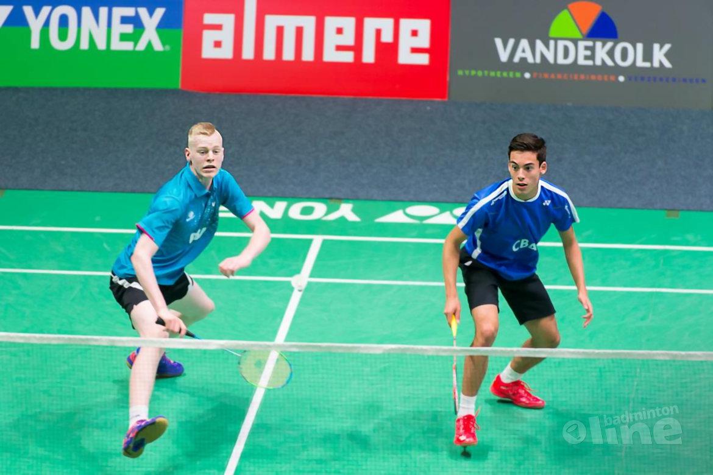 Drie Nederlandse koppels naar hoofdtoernooi Dutch Open