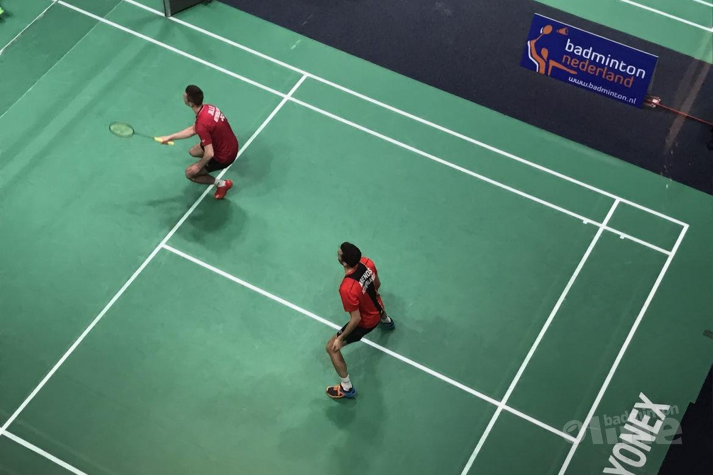 Koppels Maas-Tabeling en Arends-Jille uitgeschakeld bij Dutch Open