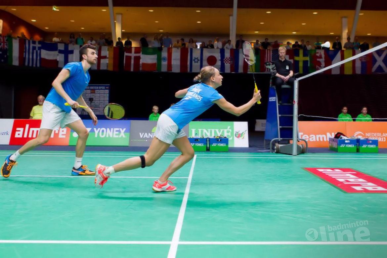 Jacco Arends en partner Piek in halve finale Canada Open 2018