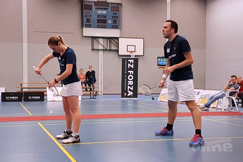 DKC wordt vierde in de poule Nederlandse Badminton Eredivisie