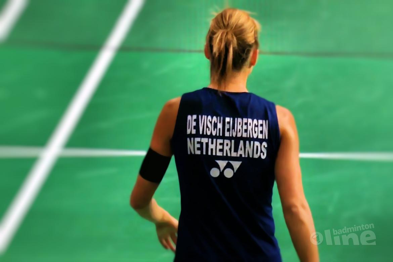 Irish Open 2018 eindigt voor Soraya de Visch Eijbergen in kwartfinales
