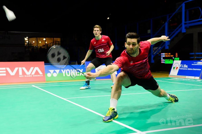 Geen kwartfinales Indonesia Open voor Jelle Maas en Robin Tabeling