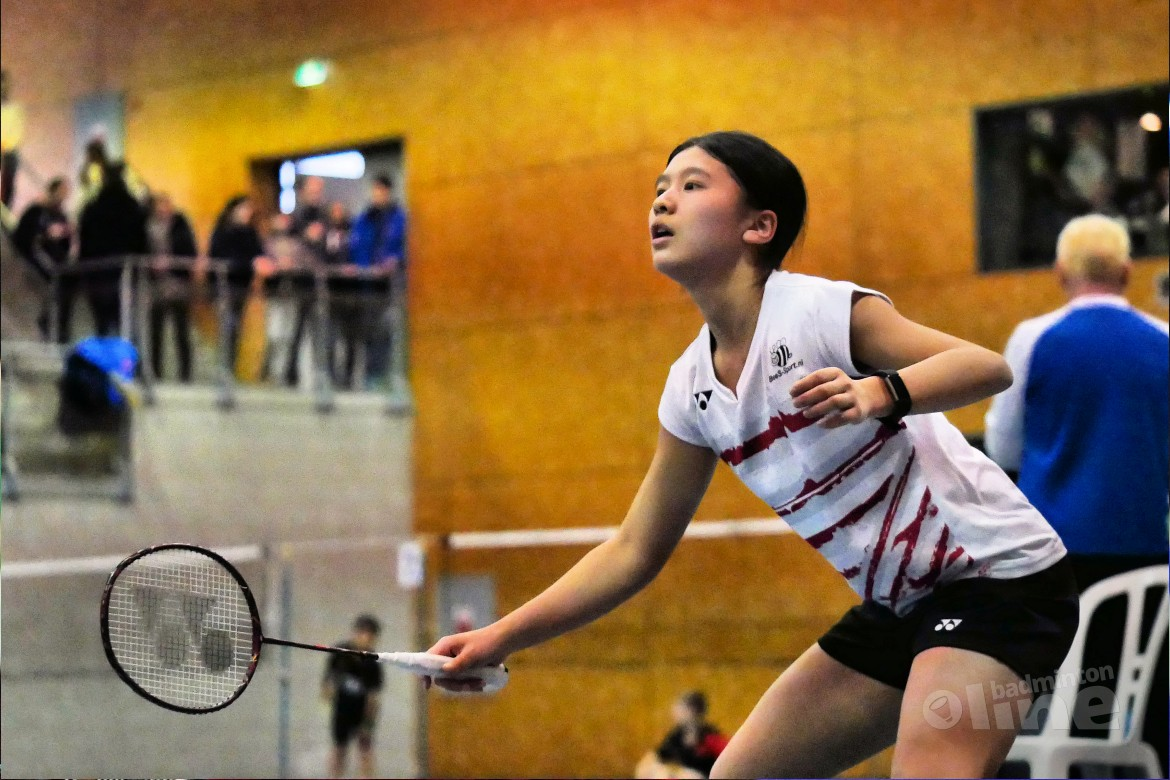 Amy Tan oppermachtig op Carlton International Youth Tournament 2017