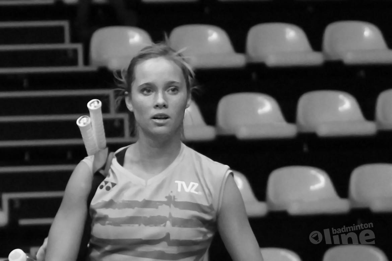 Qualifier Anna Thea Madsen still a bridge too far for Soraya de Visch Eijbergen