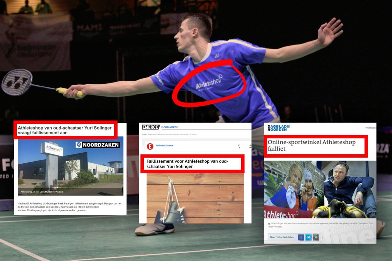 Sponsor Nederlandse topbadmintonner Mark Caljouw failliet?