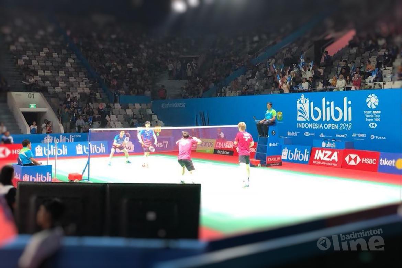 Jelle Maas en Robin Tabeling bereiken tweede ronde Indonesia Open 2018