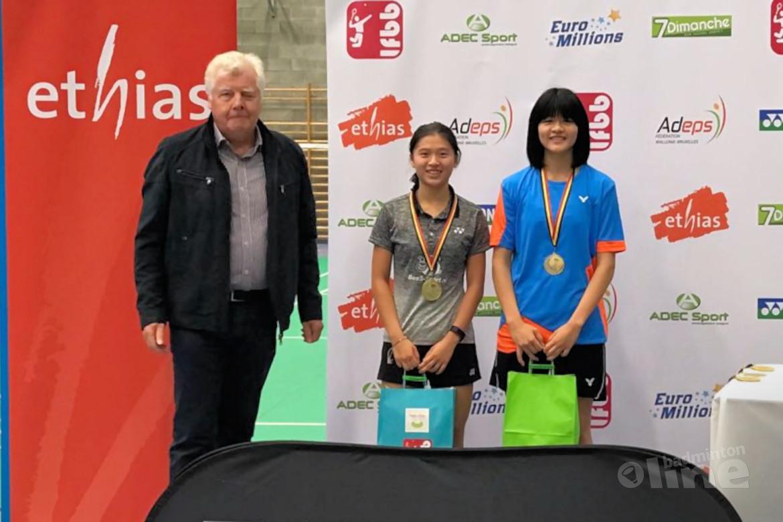 Amy Tan wint Belgian Junior 2018