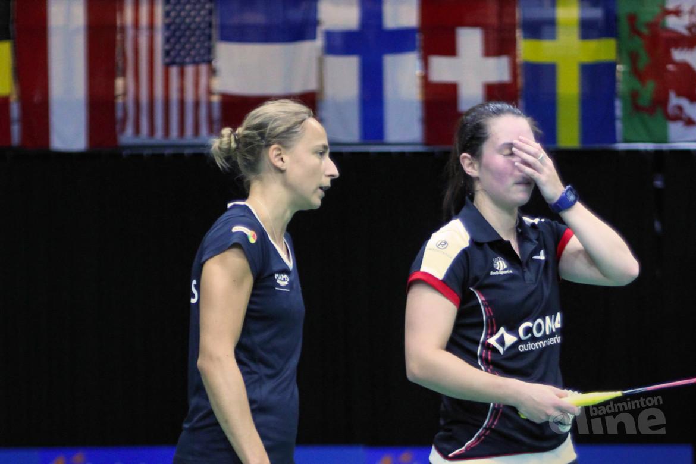 Selena Piek en Cheryl Seinen onderuit in finale Dutch Open