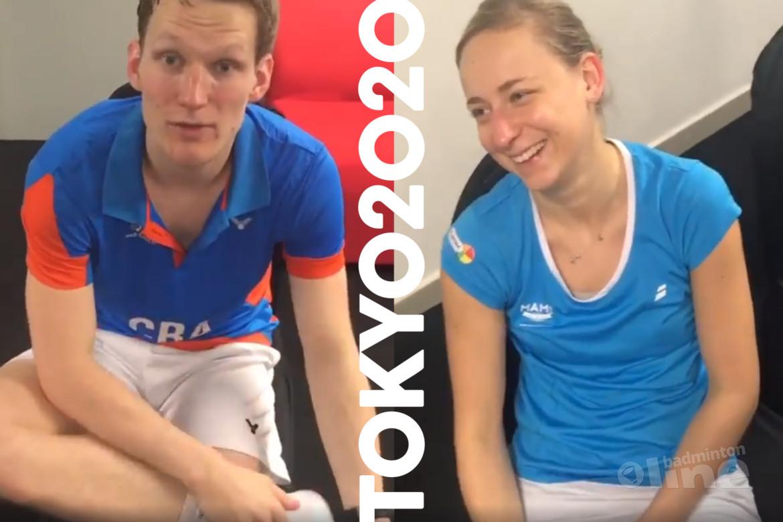 Robin Tabeling en Selena Piek in kwartfinale WK Badminton 2019 in Zwitserland