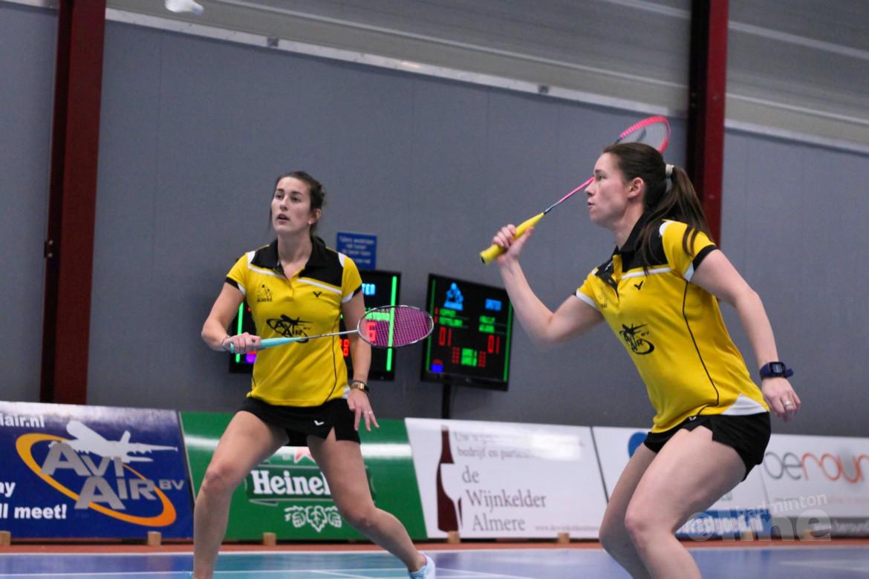 Almere laat DKC ontsnappen in Nederlandse Badminton Eredivisie