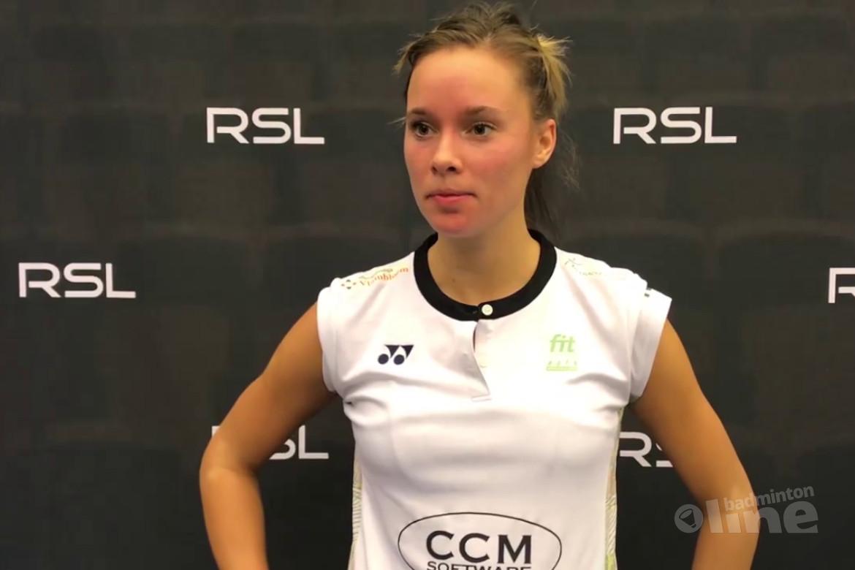 Loting Dutch Open 2019: badmintonemigrante Soraya de Visch Eijbergen opent tegen vijf maanden jongere Carolina Marin