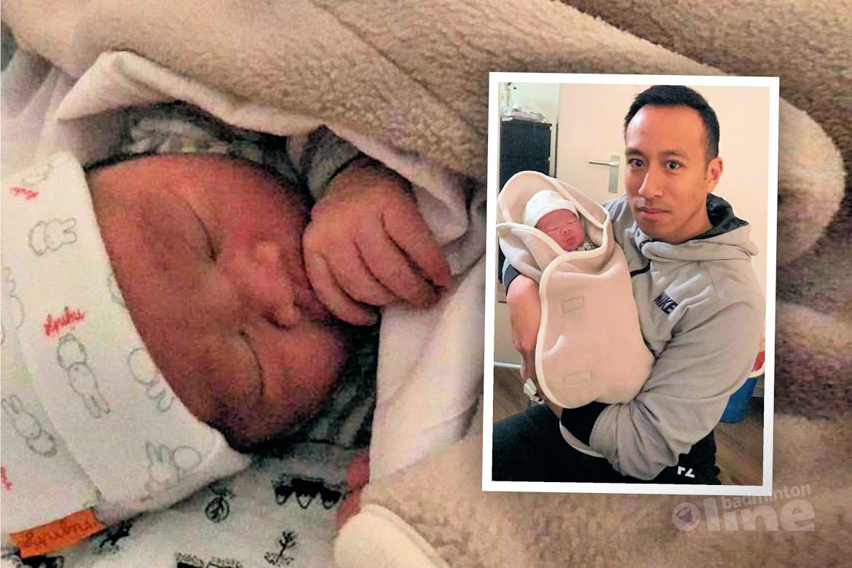 Nederlandse badmintonlegende Dicky Palyama verwelkomt derde kindje: Colin Palyama