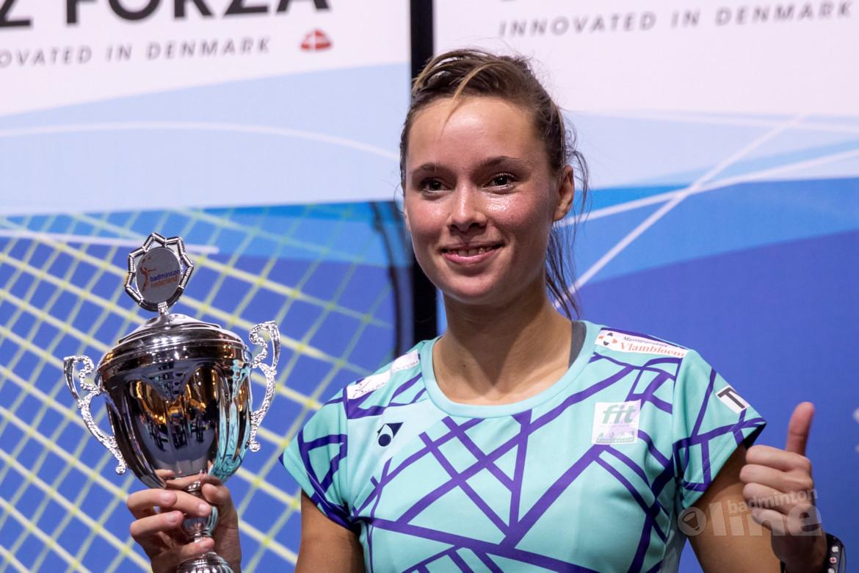 Mark Caljouw en Soraya de Visch Eijbergen pakken titels NK Badminton 2019