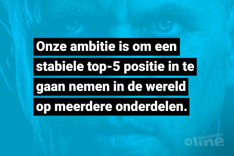 Victor Anfiloff: Er komt geen nieuwe bondscoach bij Badminton Nederland