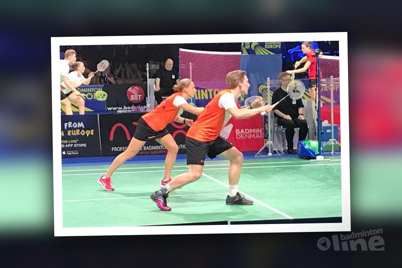 EK Gemengde Teams 2019: Nederland verliest van Denemarken met 4-1