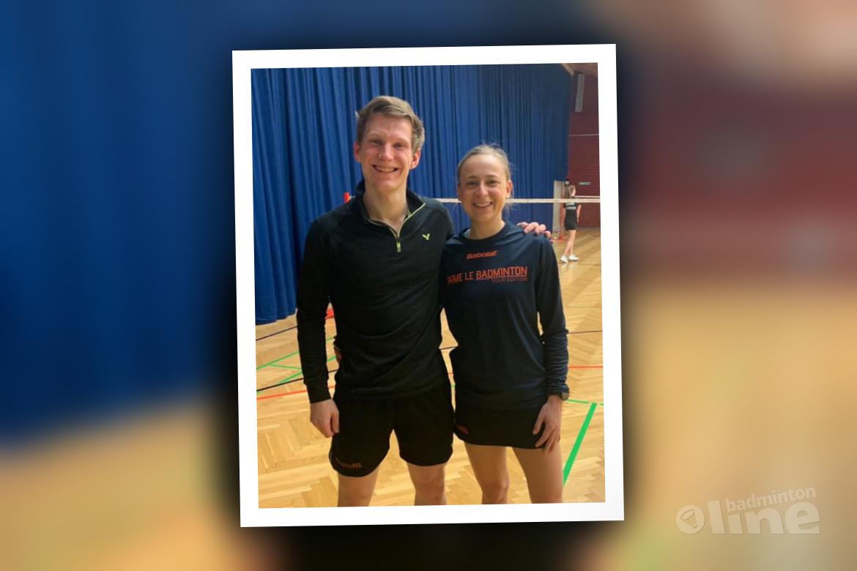 Badmintonspelers Robin Tabeling en Selena Piek winnen Brazil International 2019