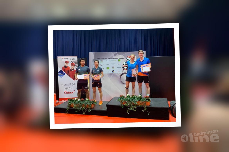 Robin Tabeling en Selena Piek winnen Austrian Open 2019
