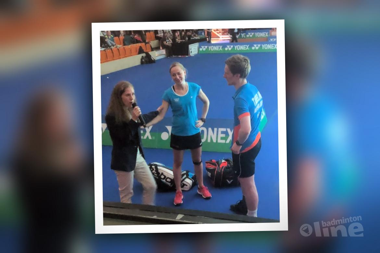 Net geen finale bij German Open voor Robin Tabeling en Selena Piek