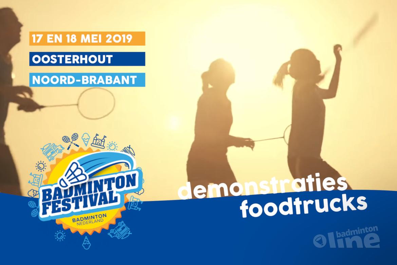 Speel ook AirBadminton bij het Outdoor Badminton Festival in Oosterhout!