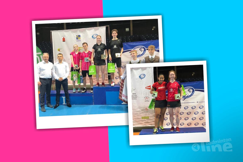 Nederlandse topbadmintonner Debora Jille golden girl in Litouwen