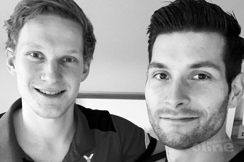 Topbadmintonners Jelle Maas en Robin Tabeling door bij WK Badminton in Zwitserland