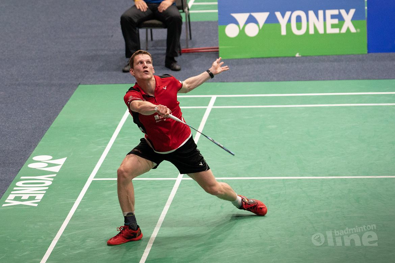 Mark Caljouw treft nummer 3 van de wereld bij Denmark Open 2019