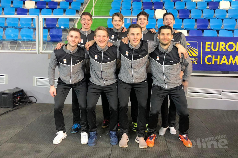 Nederlandse mannen stunten met plek in halve finales EK Badminton