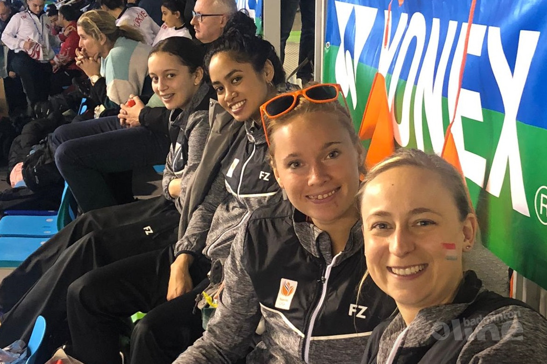 Nederlandse badmintonvrouwen met 3-2 ten onder tegen Estland