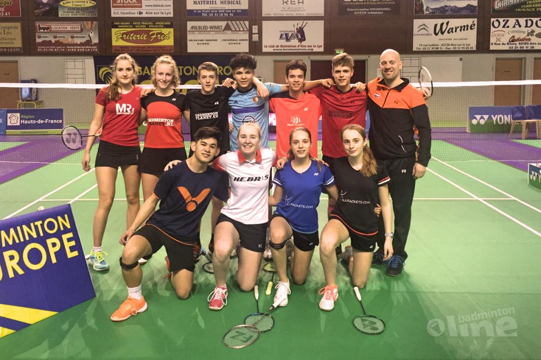 Yonex France U17 Open 2020 met Nederlandse jeugdspelers in actie
