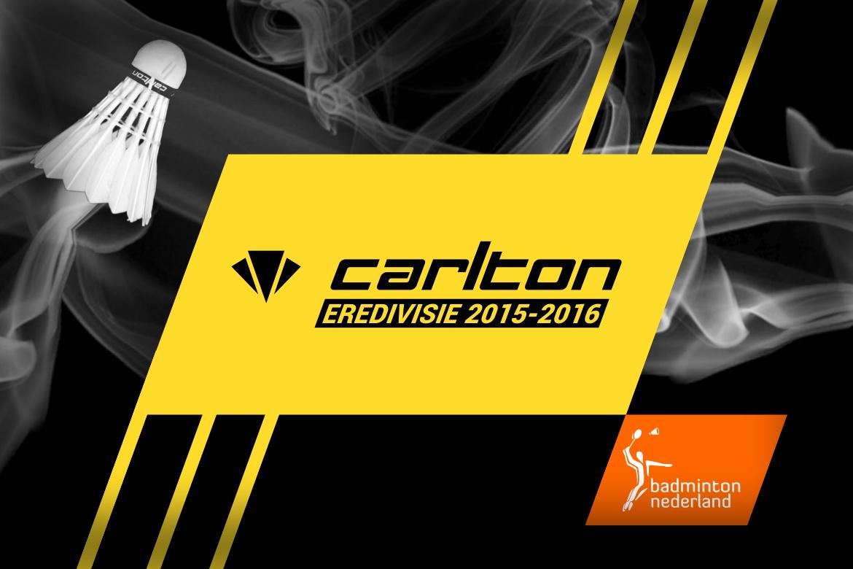 Carlton Eredivisie: zesde speelronde op 24 en 25 oktober 2015