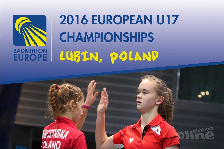 België verliest eerste groepsmatch op EK badminton U17